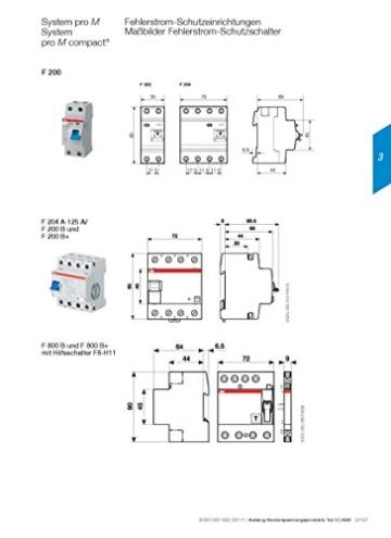 ABB F202A-25/0,33  FI-Schutzschalter Typ A 2P 25A 30mA -