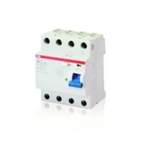 ABB F204B-40/0,03 FI-Schutzschalter Typ B 4P,40A,30mA,kurzzeitverz.,3kA,4TE 2CSF204592R1400 8012542358336 - 1