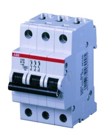 ABB S203-B16 Sicherungsautomat 16A 3-polig -