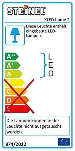 Steinel LED-Strahler XLED Home 2 graphit, Flutlicht, schwenkbar, 14.8 W, 140° Bewegungsmelder, 14m Reichweite, 1184 lm - 2