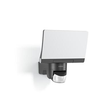 Steinel LED-Strahler XLED Home 2 graphit, Flutlicht, schwenkbar, 14.8 W, 140° Bewegungsmelder, 14m Reichweite, 1184 lm - 1