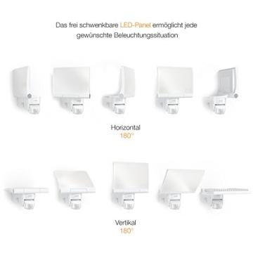 Steinel LED-Strahler XLED Home 2 graphit, Flutlicht, schwenkbar, 14.8 W, 140° Bewegungsmelder, 14m Reichweite, 1184 lm - 6