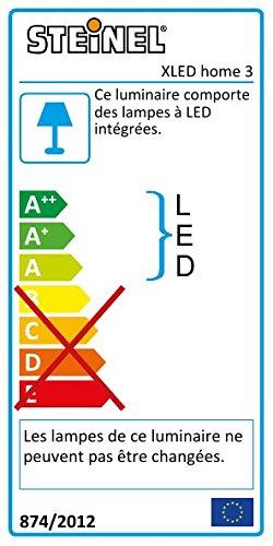 Steinel LED Strahler XLED Home 3 weiß, NEU: 4000 K, 20W, LED-Flutlicht, 140° Bewegungsmelder, 14 m Reichweite, 1426 lm - 2