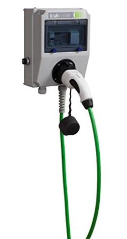 Wallbox WALLI Light 11 kW 20A Typ 2 Ladeleitung 7 Meter grün - 1