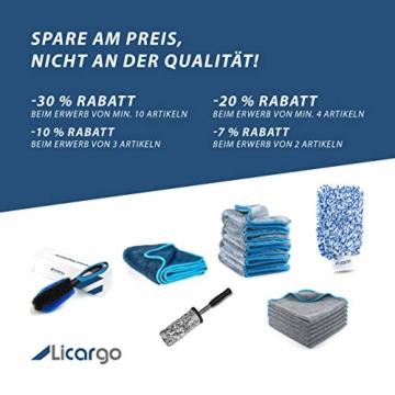 Waschhandschuh Licargo Premium Ultra Sanft -