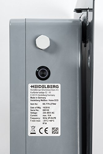 Heidelberg Wallbox Home Eco - Ladestation Elektro- & Hybrid Autos 11 kW maximale Ladeleistung (5m) - 8