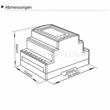 Energiezähler B+G SDM630MCT V2 MID geeicht -