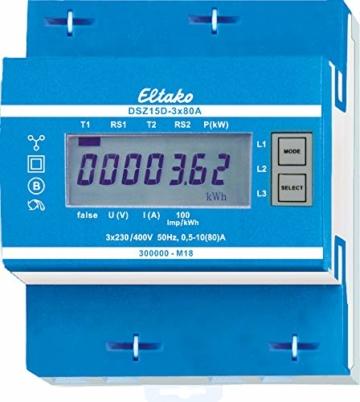 Energiezähler Eltako DSZ15D-3x80A MID geeicht -