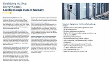 Wallbox 11kW Heidelberg Energy Control (inkl. 7,5m Ladekabel) -